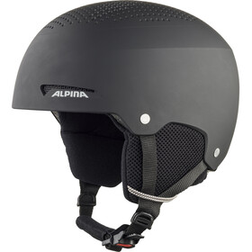 Alpina Zupo Ski Helmet Kids, black matt